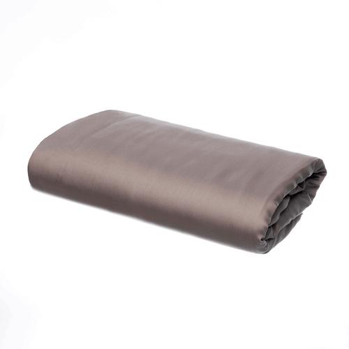 Egipska bawełna 300 splotów - Szarobrązowy - Prześcieradło
