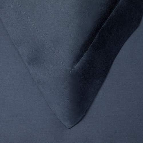 Egipska bawełna 300 splotów - Granatowy - Poszewka na poduszkę